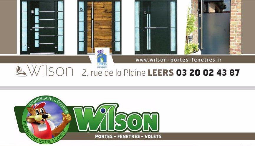 -10% sur les portes d'entrée chez WILSON !
